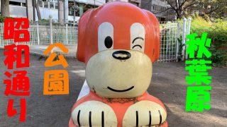 秋葉原昭和通り側公園サムネ