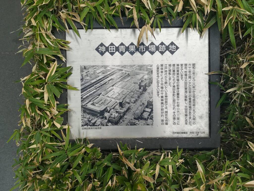神田青果市場跡地