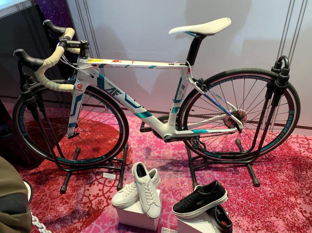 自転車と靴