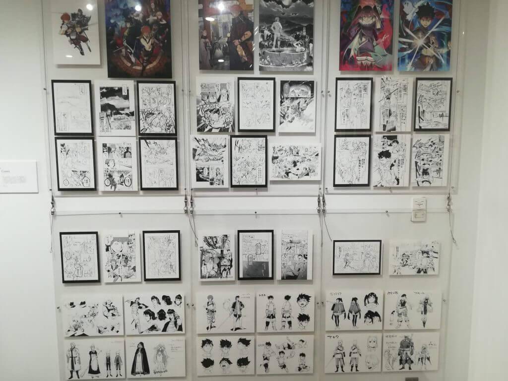 コミック展示