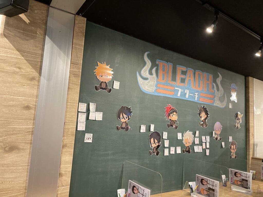 店内の様子 黒板