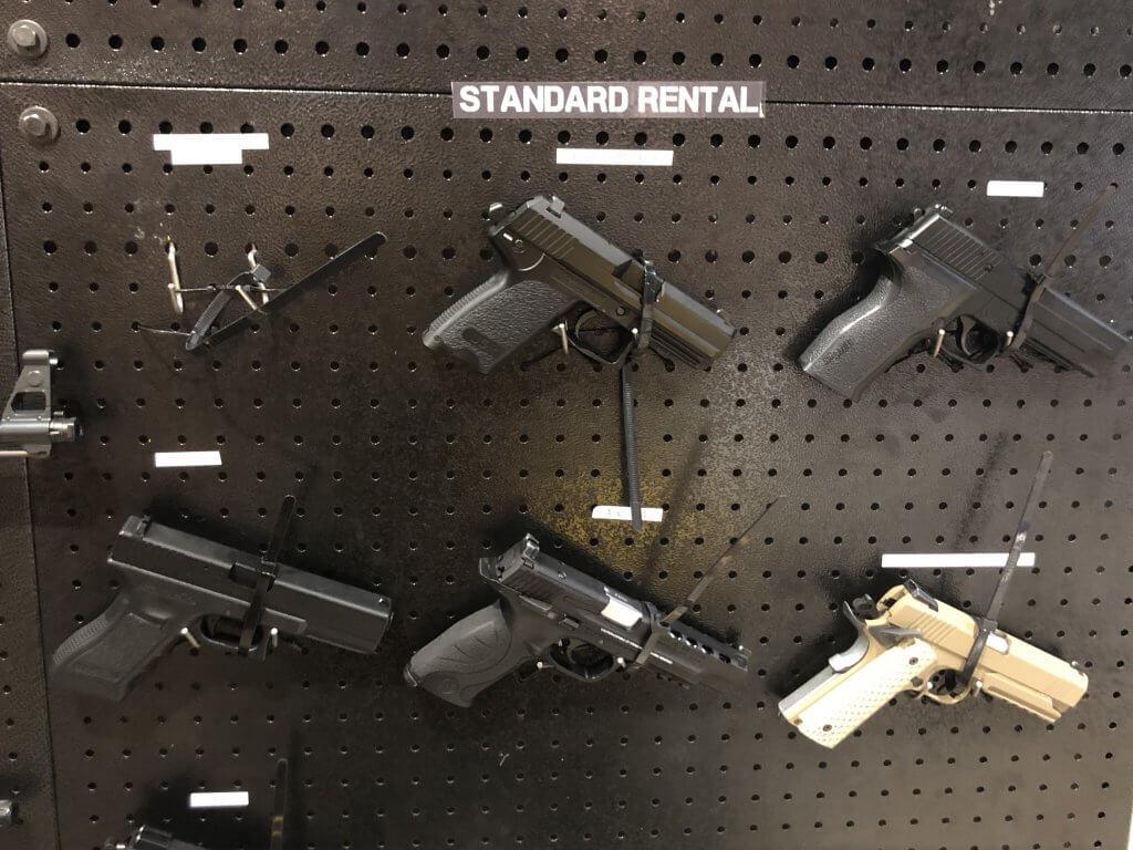 展示されている銃③