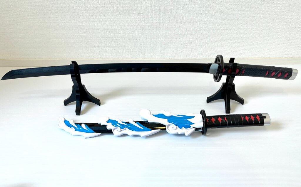 DX日輪刀と比較