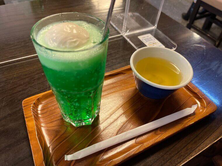竹むらクリームソーダ