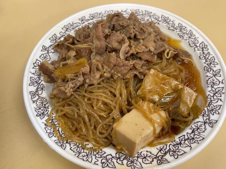 しらたき&豆腐