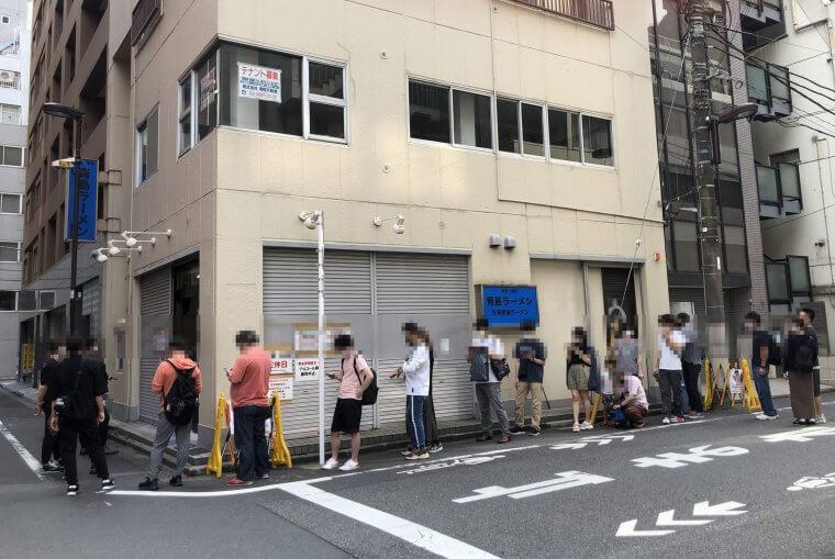 青島食堂行列