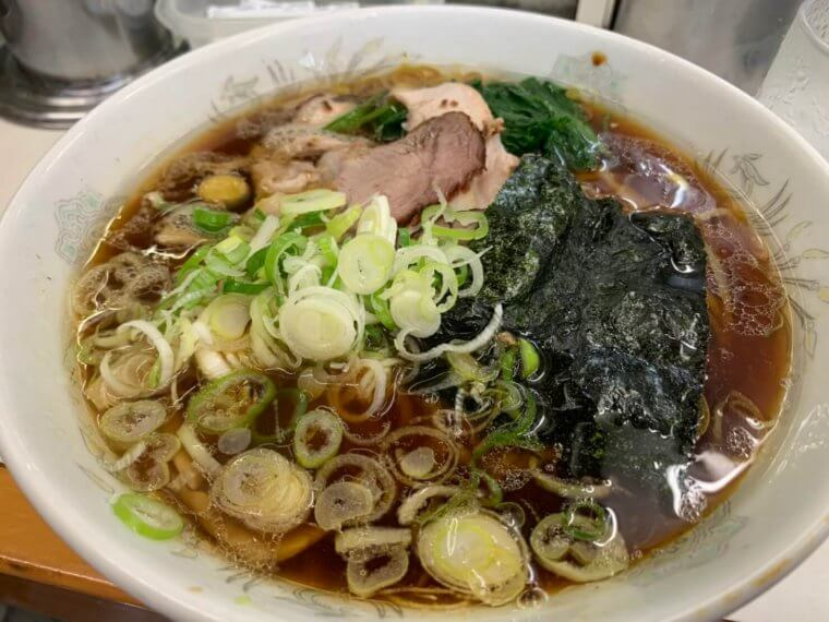 青島食堂 醤油ラーメン